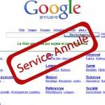fin annuaire google